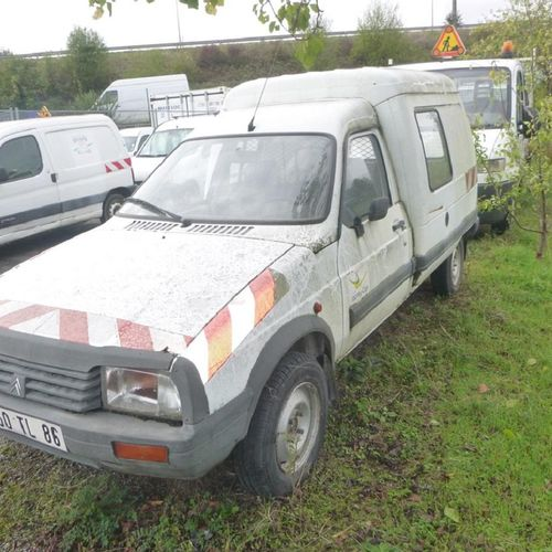 RP] Reserved for professionals: CITROEN C15, Diesel, imm. 7450 TL 86, type VDPB,…