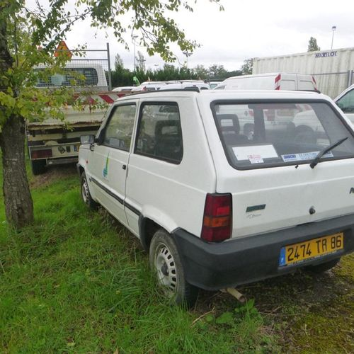RP] Reserved for professionals: FIAT Panda, Petrol, imm. 2474 TR 86, type MFT100…