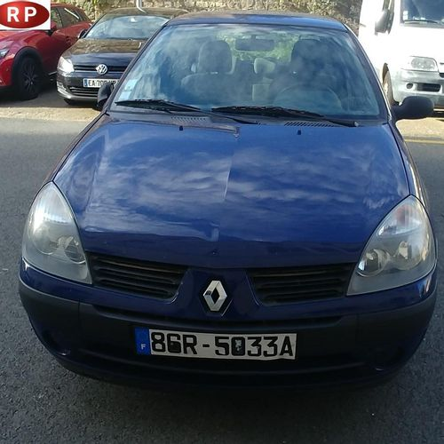 [PR] 	 Reserved for professionals : 	 RENAULT Clio II, Petrol, imm. 86R 5033A, t…