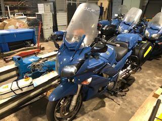Motocyclette YAMAHA 1300 FJR, Essence, imm. BJ 103 EX, type L3EYAMM2000T068, n° …