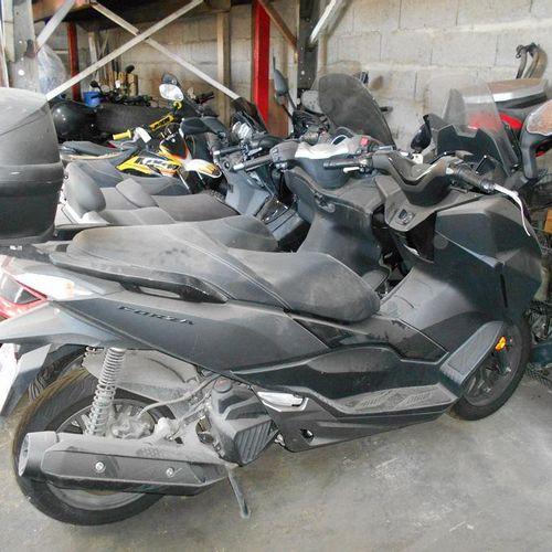 [ACI] Motocyclette HONDA NSS125AD, Essence, imm. EL 856 RC, type L3EHNDML000J766…