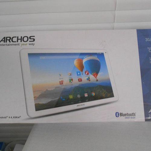 1 tablette ARCHOS Xenon Lite 3G 10.1' Dual caméra GPS 16GB dans son emballage. L…