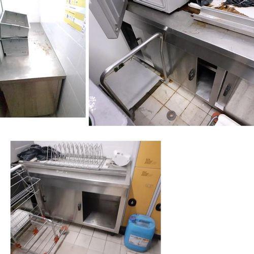 [RP]  Réservé aux professionnels :  Lot de matériel de cuisine HS vendu au poi…