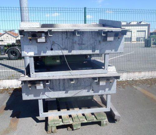 1 banc de freinage BEISSBARTH,  1 banc de contrôle comprenant armoire électriqu…