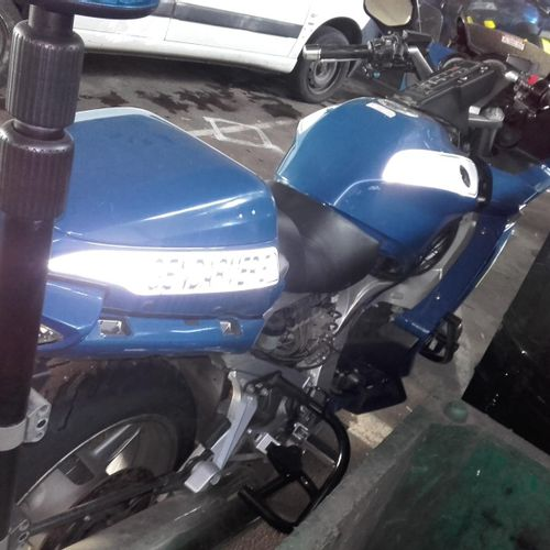[ACI] Motocyclette YAMAHA 1300 FJR, Essence, imm. 20890037, type LYM1AN40B489, n…