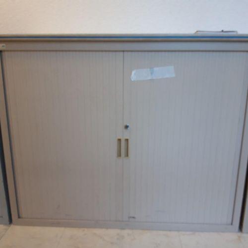 4 armoires basses avec clés beiges (Larg 120 * Hauteur 102 * Prof 45)  2 armoir…
