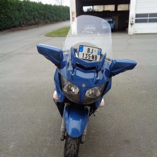 Motocyclette YAMAHA 1300 FJR, Essence, imm. BJ 135 NB, type L3EYAMM2000T068, n° …