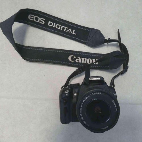 Camera CANON 350D, lens CANON EF S18 55mm, without connectors. Drop off location…
