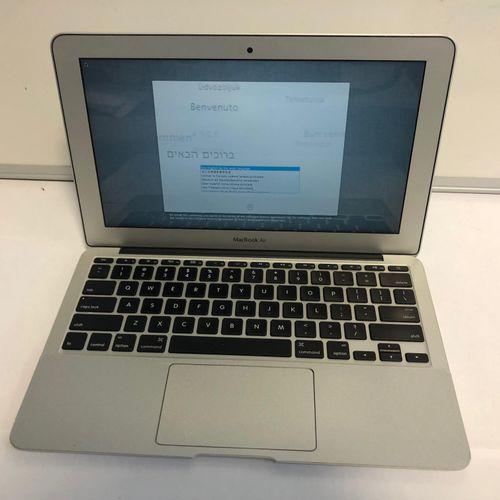 APPLE MacBook Air (2013), Model A1465, Serial No. C02KQ53FSN8, 11', QWERTY keybo…