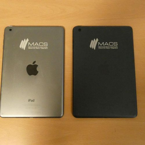 APPLE iPad mini 2.5 (2015), model A1432, 16 GB, WIFI (2015), 2 units, serial no.…