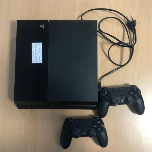 SONY PS4, model CUH 1116A, sold with 2 controllers and connectors. Place of depo…