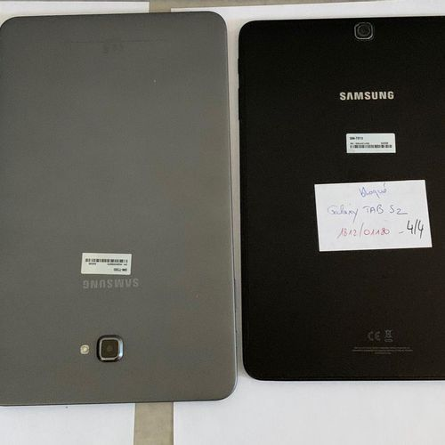 4 SAMSUNG shelves without connectors :  Galaxy TAB S2 SM T813, 32 Gb, serial nu…