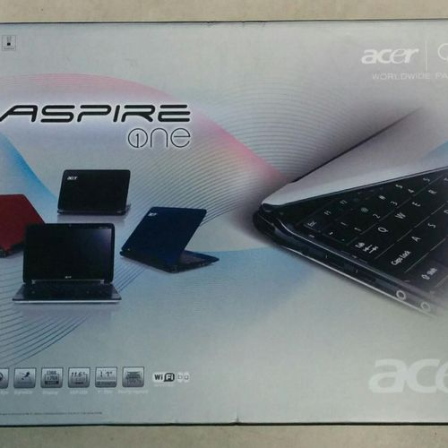 Laptop ACER Aspire One (2009), A0751h 52Bk, Intel Atom CPU Z520, 1.33GHz, 1Gb, W…