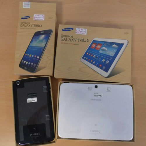 Lot composed of 2 tablets of: SAMSUNG GALAXY Tab3 10.1, type GT P5220, 16Gb , SA…