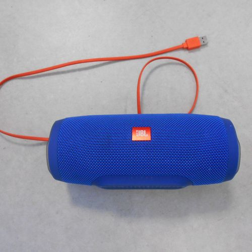 JBL loudspeaker, Charge 3, with connectors, without power outlet. Place of depos…