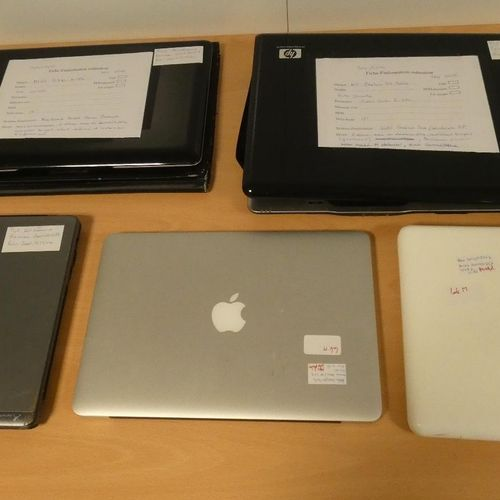 [RP] Batch consisting of : 	 APPLE MacBook Pro, Model A1502, Serial No. C02R3R19…