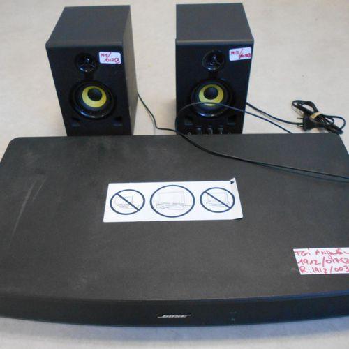 BOSE solo TV sound bar, model 416054, 50/60 Hz, 62.5 cm, 3 jack inputs, without …