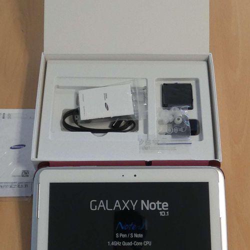 Shelf SAMSUNG GALAXY Note 10.1, type GT N8010, 16Gb, with s pen, in box, mint co…