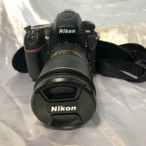 Camera NIKON D800, lens NIKON AF S NIKKOR 24 70mm, with battery, without charger…