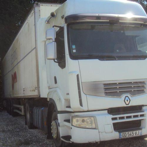 [RP][ACI]  Ensemble PL comprenant :  Tracteur Routier RENAULT Premium, 450 DXi…