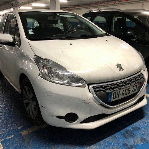 [PR] Lot reserved for car professionals. PEUGEOT 208 1.4 HDi, Diesel, imm. DN 40…