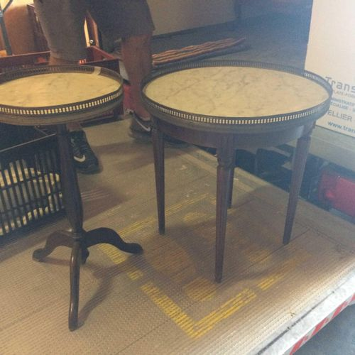 Lot of furniture and accessories composed of: 4 Chests of drawers of different s…