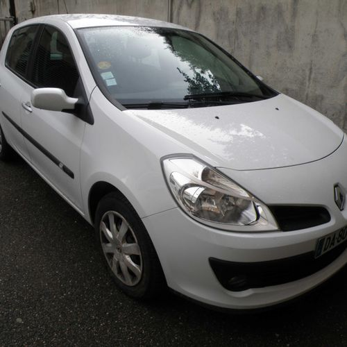 [RP] Lot reserved for car professionals. RENAULT Clio III 1.5 dCi 86cv, Gazole, …