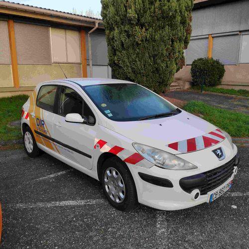 [RP] Lot reserved for car professionals. PEUGEOT 307 Restylée 1.6 HDi 16V 90cv, …