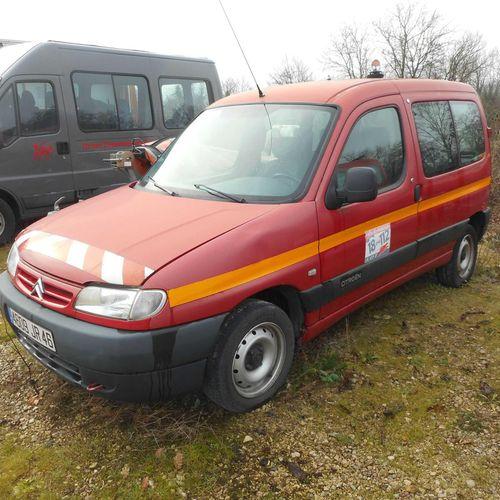[RP] Lot reserved for car professionals. CITROEN Berlingo 1.4 i 75hp , Petrol, i…