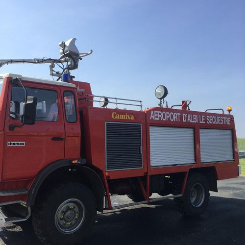 CT] Professional lot only. THOMAS VIM 12 fire truck, Diesel, imm. DA 850 HZ, Typ…