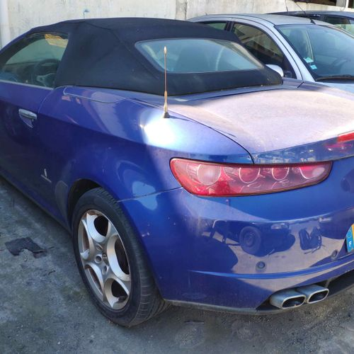 [RP][ACI] Lot reserved for car professionals. ALFA ROMEO Spider III 2.4 JTDM 200…