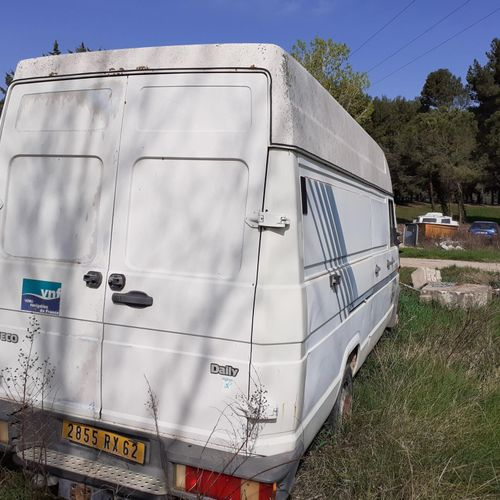 [RP] Lot reserved for car professionals. IVECO Dailly, Diesel, imm. 2855 RX 62, …