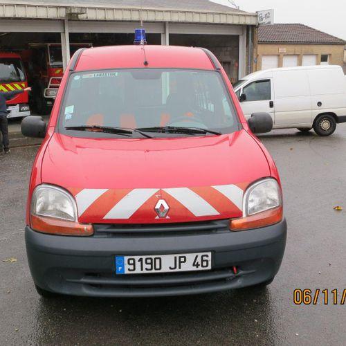 [RP] Lot reserved for car professionals. RENAULT Kangoo I Break 1.4 i 75hp, Petr…