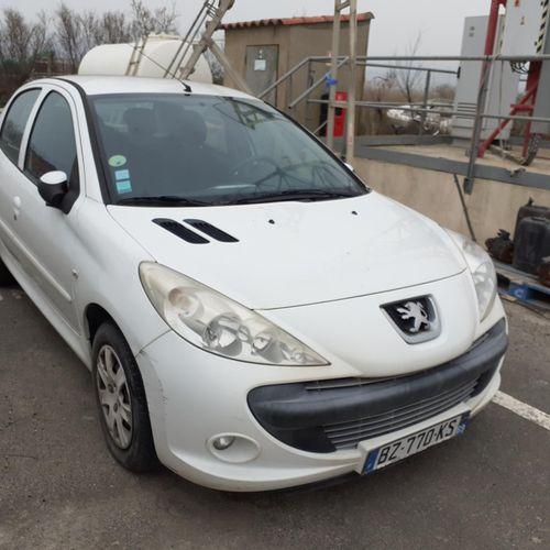 [RP] Lot reserved for car professionals. PEUGEOT 206+, Gazole, imm. BZ 770 KS, T…