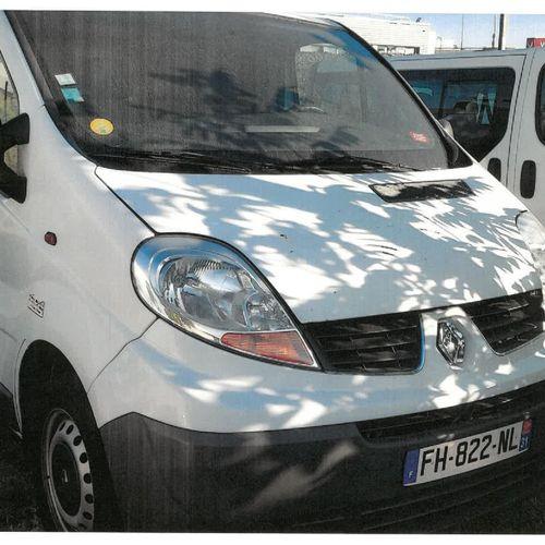 [RP] Lot réservé aux professionnels de l'automobile. RENAULT Trafic II Fourgon p…