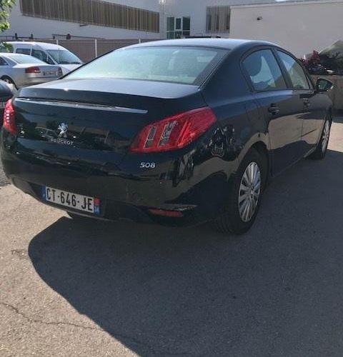[RP] Lot réservé aux professionnels de l'automobile. PEUGEOT 508 1.6 HDi, Gazole…