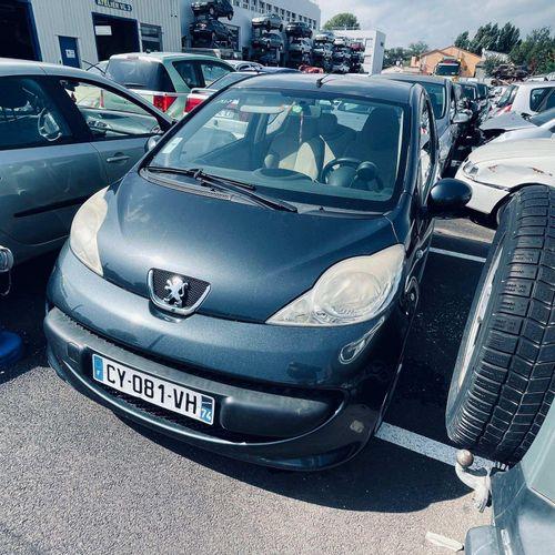 [RP][ACI] Lot réservé aux professionnels de l'automobile. PEUGEOT 107 1.0 I, Ess…