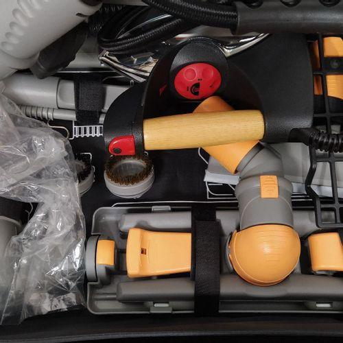 Nettoyeur vapeur aspirateur professionnel UNITEKNO 919 Dual Evolution avec valis…