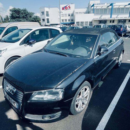 [RP][ACI] Lot réservé aux professionnels de l'automobile. AUDI A3 cabriolet, Gaz…