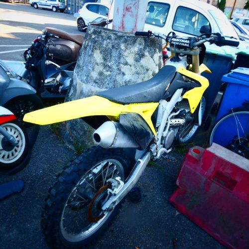 [ACI] Moto Cross SUZUKI RM Z 250, n° de JS1R142A000505879, 1ère mise en circulat…