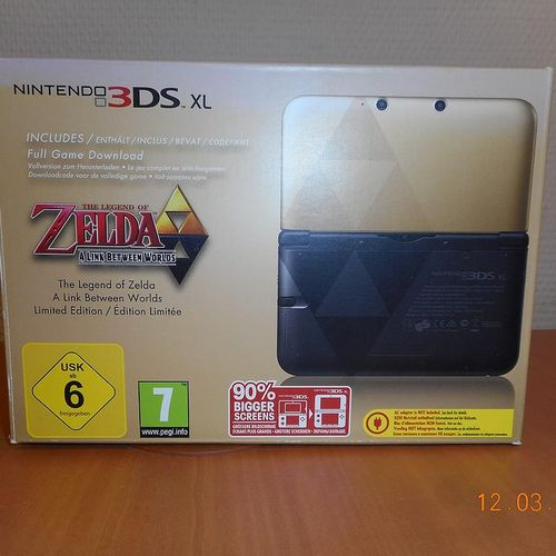 Game Console NINTENDO 3DS XL Edition Limited The Legend of Zelda A Link Between …