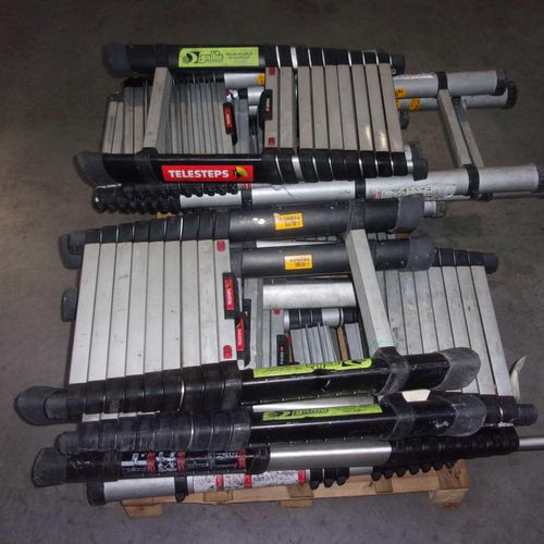 [NC] Set of telescopic ladders. Non conforming material. 	 Delivering service : …