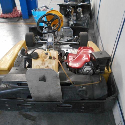 KART KLL, Gasoline, engine no.: GCAB1754543 series, HONDA GX 270.KLL engine 1. N…