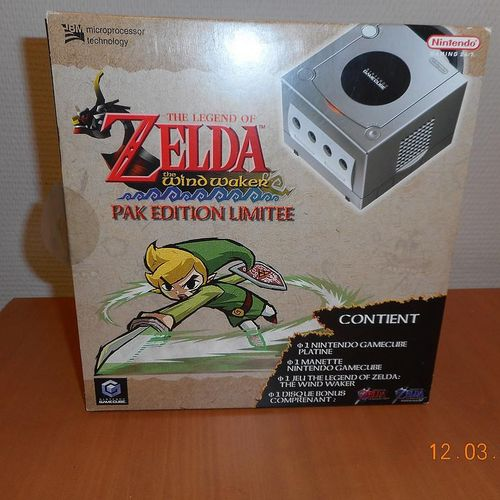 Game Console GAMECUBE PAL The Legend of Zelda pak Limited Edition with connector…