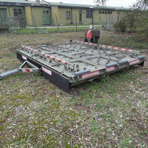 RP] [ PRO RESERVE] Motorised container platform trailer (lombardini) 5 tons. Yea…