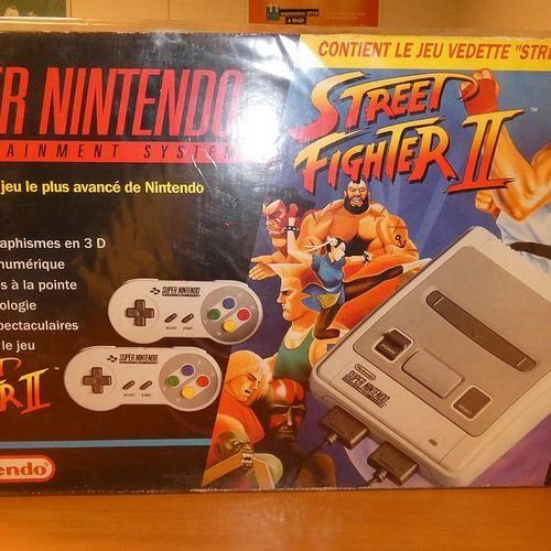 Super NINTENDO STREET FIGHTER II game console. Visits and pick up only by appoin…