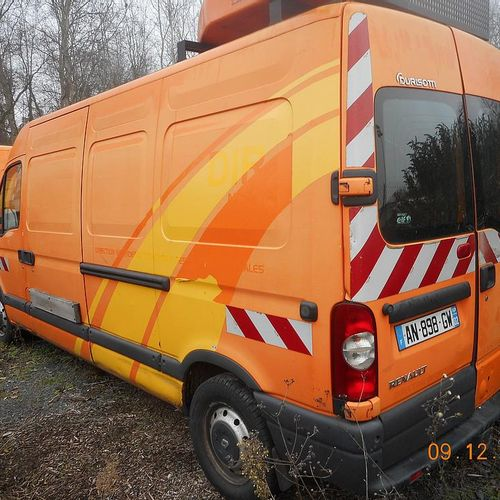 RP] [ PRO RESERVE ] RENAULT MASTER II 2.5 DCI 120 HP, 3 seats, Diesel, imm. AN 8…