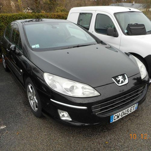 CT] PEUGEOT 407 1.6 HDI 110 HP, Diesel, imm. CW 045 ET, type 6D9HZC, serial no. …