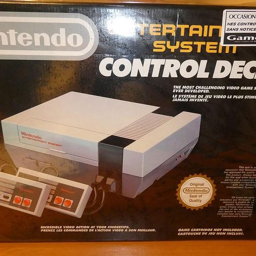 NINTENDO Entertainment System Control Deck game console. Visits and pick up only…