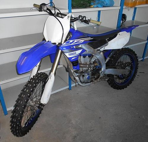 CROSS MOTORCYCLE YAMAHA YZ450F, Gasoline, Serial No. JYACJ23C000004054. Not homo…